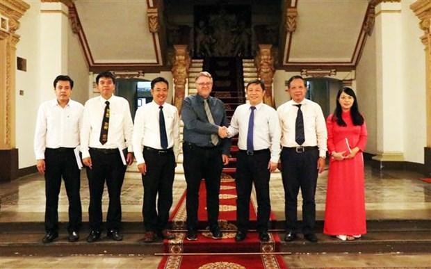 Ho Chi Minh-Ville souhaite booster ses liens avec le Danemark hinh anh 1