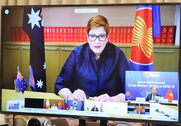 L'ASEAN et l'Australie soulignent leur cooperation anticoronavirus hinh anh 1