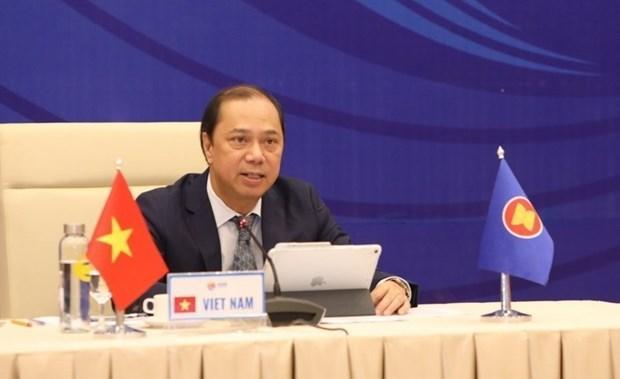 De hauts officiels aseniens et chinois tiennent leur 26e consultation hinh anh 1