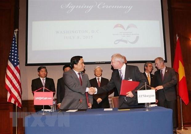 Vietnam et Etats-Unis celebrent cette annee le 25e anniversaire de leurs relations diplomatiques hinh anh 1