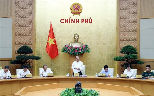 Le PM preside une reunion sur l'edification institutionnelle hinh anh 1