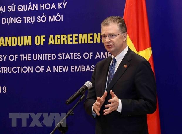 L'ambassadeur americain salue les 25 ans de relations bilaterales hinh anh 1