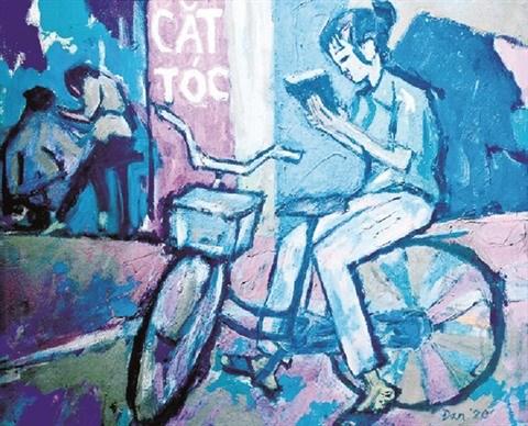 Le peintre americain Dan Hambleton sublime le Vietnam du bout de son pinceau hinh anh 3