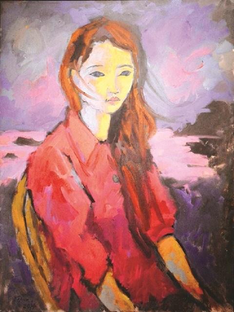 Le peintre americain Dan Hambleton sublime le Vietnam du bout de son pinceau hinh anh 2