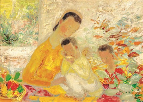 Peintres vietnamiens en terre etrangere hinh anh 1