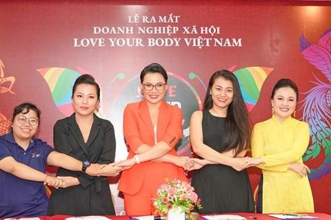 Le projet #Love Your Body obtient officiellement le statut d'entreprise sociale hinh anh 1