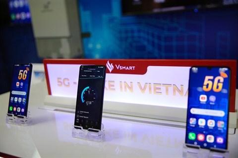 Vinsmart developpe avec succes sa telephonie 5G hinh anh 1