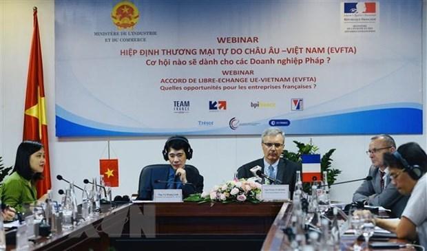 Chercher des moyens pour les entreprises du Vietnam et de la France de profiter de l'EVFTA hinh anh 1