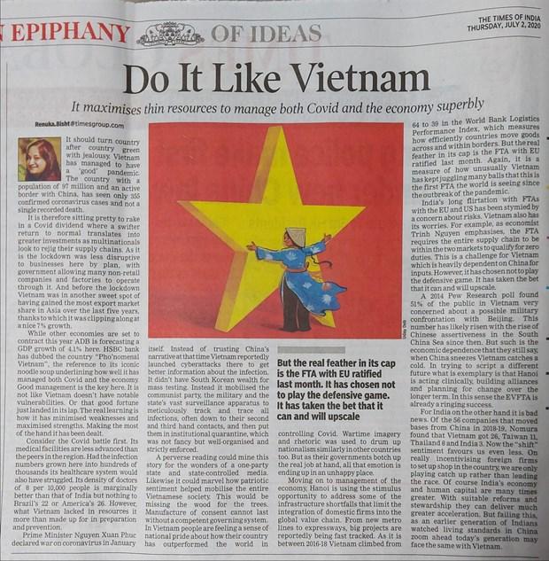 Le Vietnam, un phenomene dans la lutte contre les epidemies et la croissance economique hinh anh 1
