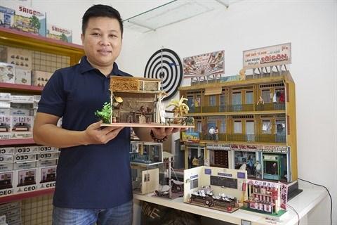 """""""Le monde miniature"""", une boutique unique au Vietnam hinh anh 1"""