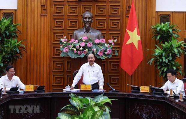 Le PM exhorte Ben Tre a accelerer le decaissement des investissements publics hinh anh 1