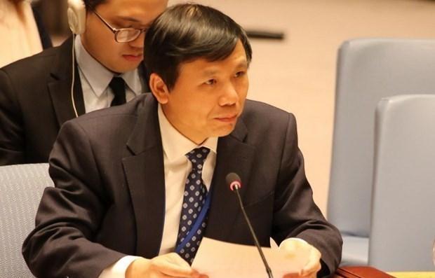 Le Vietnam presente des experiences anti-terroristes de l'ASEAN hinh anh 1