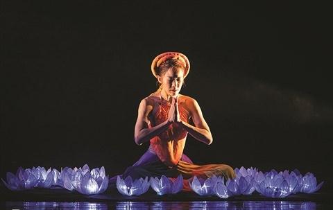 Kim Van Kieu fait un tabac sur la scene du ballet hinh anh 1