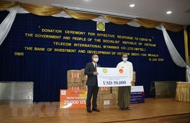Le Vietnam soutient le Myanmar contre le coronavirus hinh anh 1