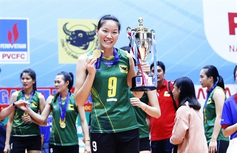 Rencontre avec Ngoc Hoa, pepite du volley-ball vietnamien hinh anh 1