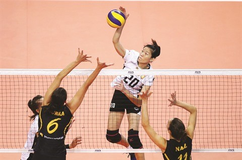 Rencontre avec Ngoc Hoa, pepite du volley-ball vietnamien hinh anh 2