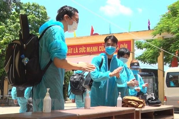 Aucun nouveau cas de contamination locale de COVID-19 le 14 juillet hinh anh 1