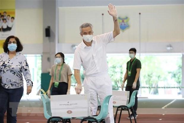 Felicitations au PM singapourien Lee Hsien Loong pour la victoire electorale du PAP hinh anh 1