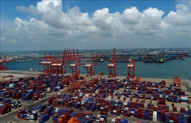 L'ASEAN devient le premier partenaire commercial de la Chine au premier semestre hinh anh 1