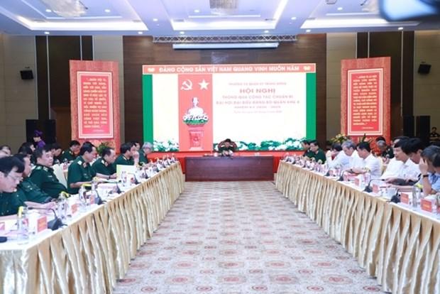 Preparation du Congres de l'organisation du Parti de la 4e Region militaire hinh anh 1