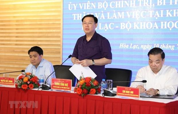 Hanoi s'efforce d'etre le 1er centre scientifique et technologique en Asie du Sud-Est hinh anh 1