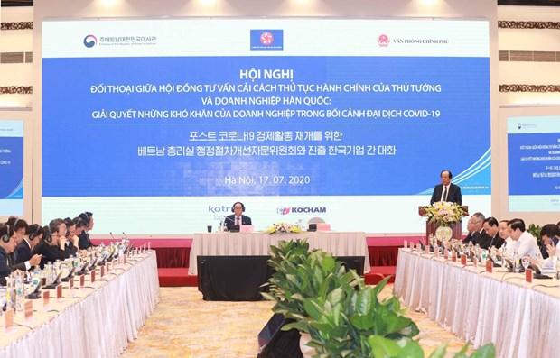 Le Vietnam promet de soutenir les entreprises sud-coreennes hinh anh 1