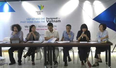 "Top depart pour le concours ""Designed by Vietnam"" hinh anh 1"