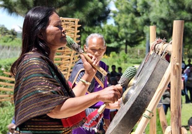 Touneh Ma Bio, la restauratrice de la culture Chu Ru hinh anh 1