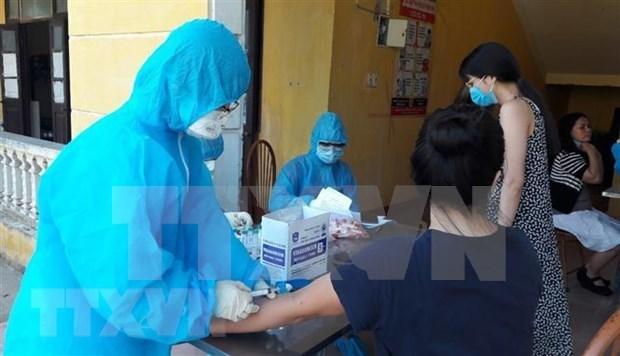 Le Vietnam passe 94 jours sans infections au COVID-19 dans la communaute hinh anh 1