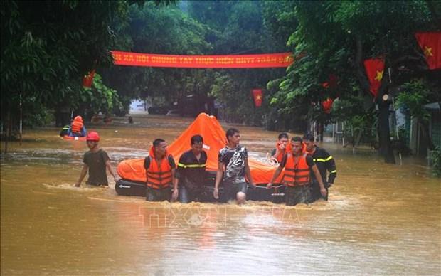 Le PM demande de regler les consequences des crues a Ha Giang hinh anh 1