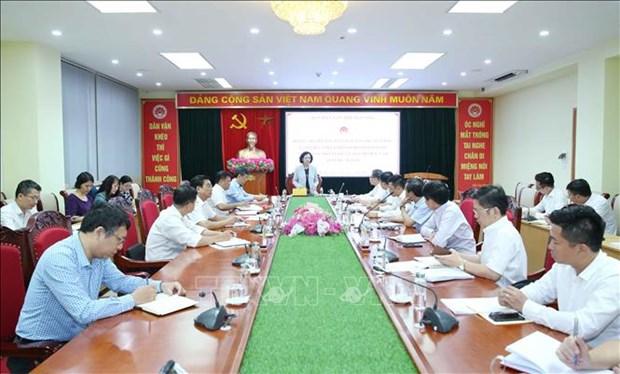 Renforcement du travail de sensibilisation aupres des masses pour les Vietnamiens residant a l'etranger hinh anh 1
