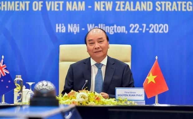 Le Vietnam et la Nouvelle-Zelande forgent un partenariat strategique hinh anh 1