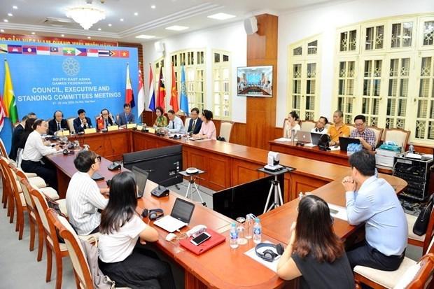La Federation des Jeux d'Asie du Sud-Est se reunit a Hanoi hinh anh 1