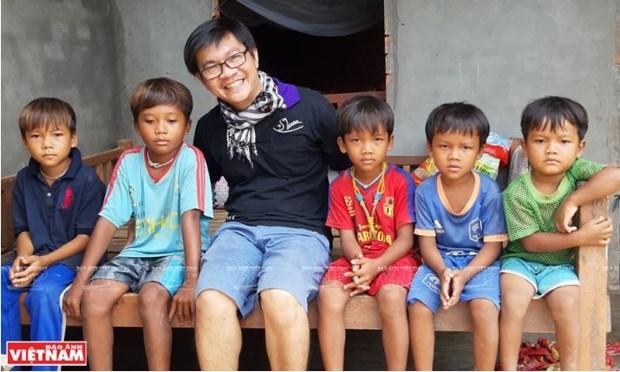 Chau Thanh Toan, l'homme qui a le cœur sur la main hinh anh 4