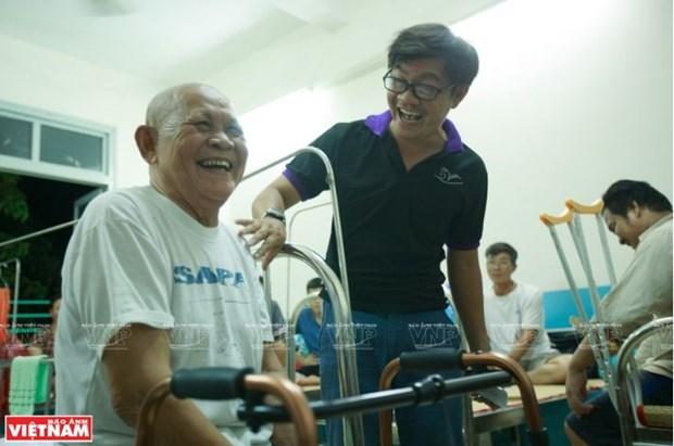 Chau Thanh Toan, l'homme qui a le cœur sur la main hinh anh 2
