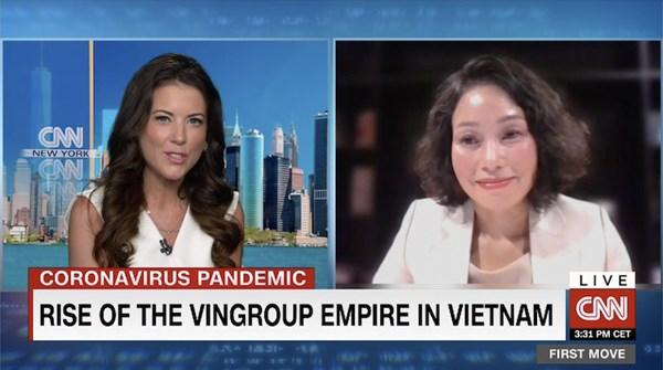 CNN : le vietnamien Vingroup determine a conquerir le marche americain hinh anh 1