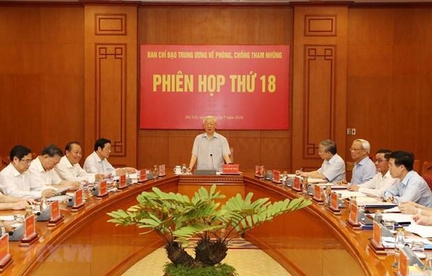 La poursuite du renforcement de la lutte contre la corruption hinh anh 1