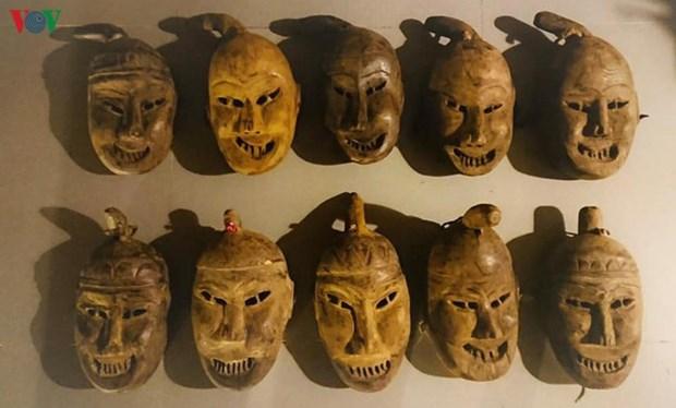 Le masque rituel des Dao parlant Mun hinh anh 1