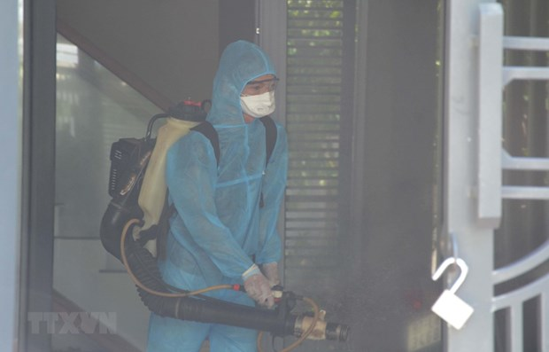 Da Nang applique des mesures contre le COVID-19 dans la communaute hinh anh 1