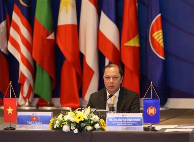 Le Vietnam va continuer a contribuer au developpement de l'ASEAN hinh anh 1