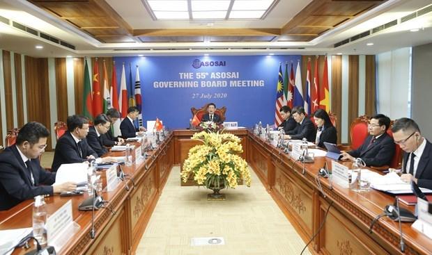 Le Comite executif de l'ASOSAI examine des mesures pour la reponse au COVID-19 hinh anh 1