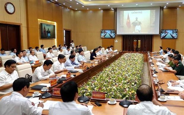 Le Premier ministre travaille avec les autorites de Phu Tho hinh anh 1