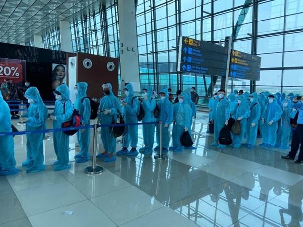 Plus de 210 citoyens vietnamiens rapatries de l'Indonesie hinh anh 1