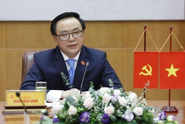 Vietnam-Chine : des responsables du Parti s'entretiennent au telephone hinh anh 1