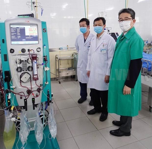 Coronavirus : la JICA fournit des equipements a l'Hopital Cho Ray hinh anh 1