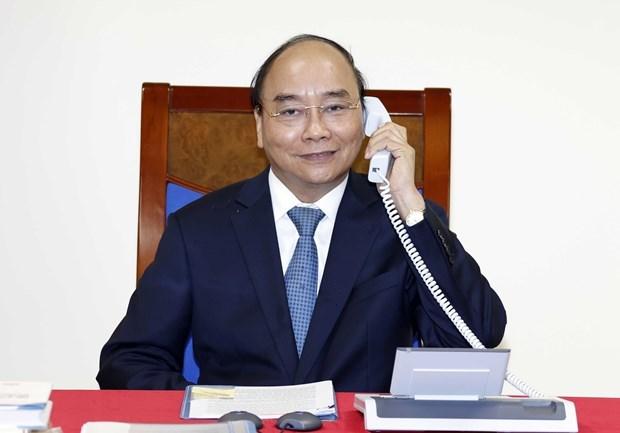 Le Premier ministre s'entretient avec la presidente de la CE hinh anh 1
