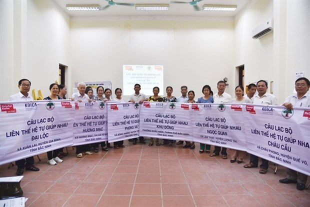 HelpAge International in Vietnam remporte le premier grand prix du HAPI hinh anh 1