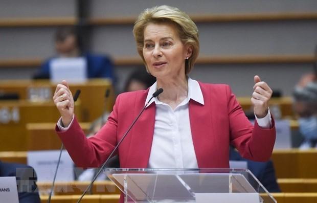 La Commission europeenne publie un communique de presse sur l'EVFTA hinh anh 1