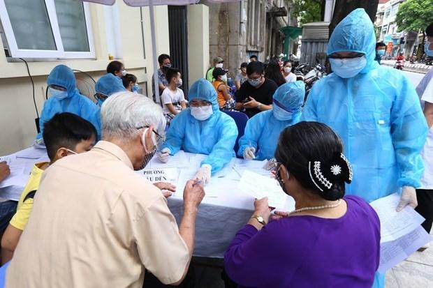 Coronavirus : quatre nouveaux cas, le bilan s'etablit a 590 hinh anh 1