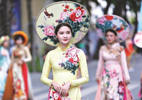 L'ao dai aspire a devenir patrimoine culturel immateriel hinh anh 2